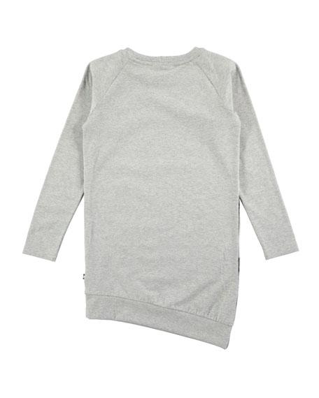 Cindelle Long-Sleeve Horse Dress, Size 2T-12