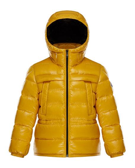Moncler Gibran 2 Hooded Quilted Coat, Size 8-14