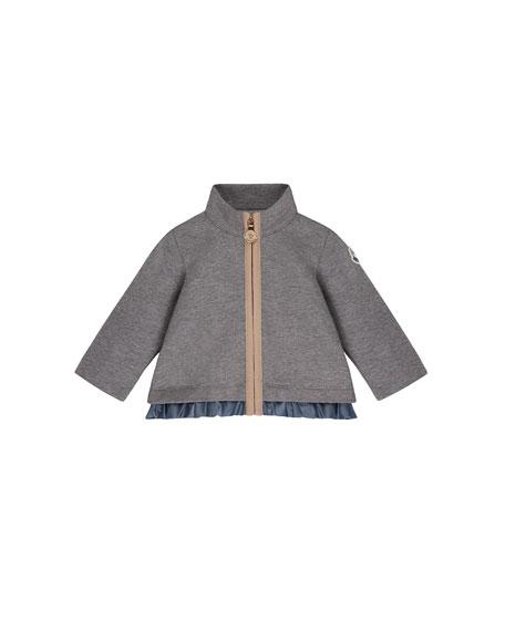Moncler Ruffle-Hem Jacket w/ Leggings, Size 6M-3T