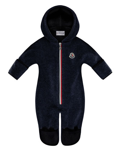 Hooded Fleece Footie Pajamas, Size 6-24 Months