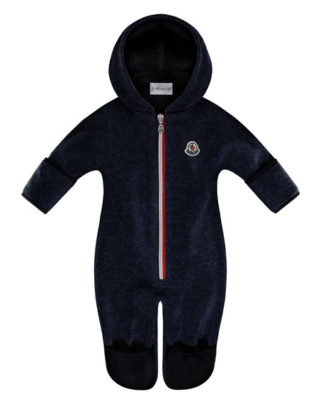 Hooded Fleece Footie Pajamas, Size 6-24 Months