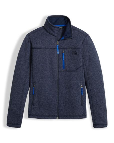 Gordon Lyons Full-Zip Jacket, Navy, Boys' Size XXS-XL