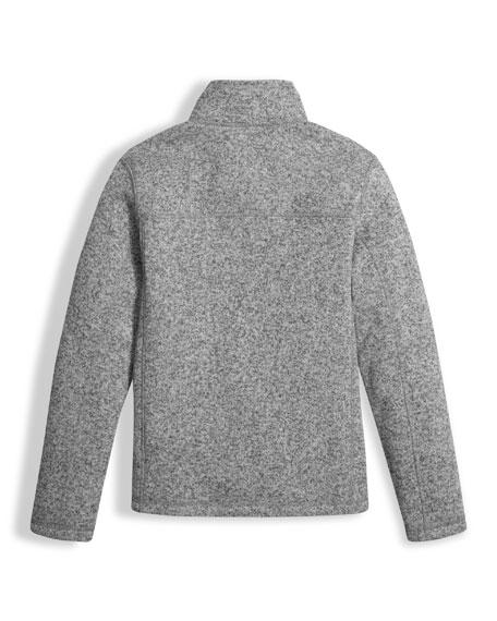 Gordon Lyons Full-Zip Jacket, Gray, Boys' Size XXS-XL