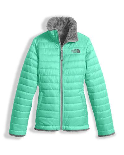 Girls' Reversible Mossbud Swirl Jacket, Size XXS-XL