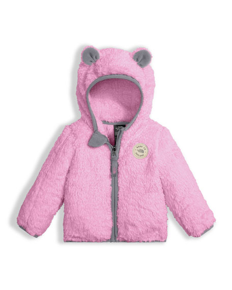 The North Face Plushee Fleece Bear Zip Hoodie,