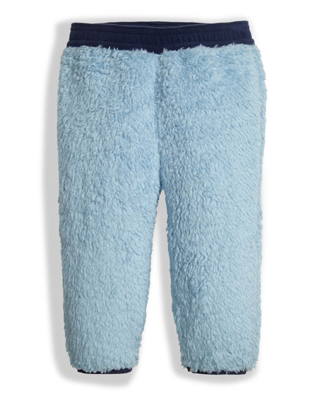 Plushee Fleece Pants, Sky, Size 3-24 Months