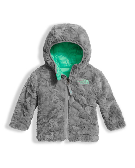 Reversible Mossbud Swirl Jacket, Green, Size 3-24 Months
