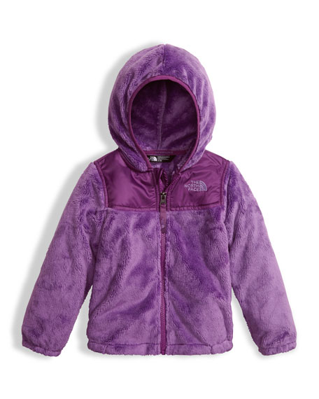 Girls' Oso Fleece Zip Hoodie, Purple, Size 2-4T