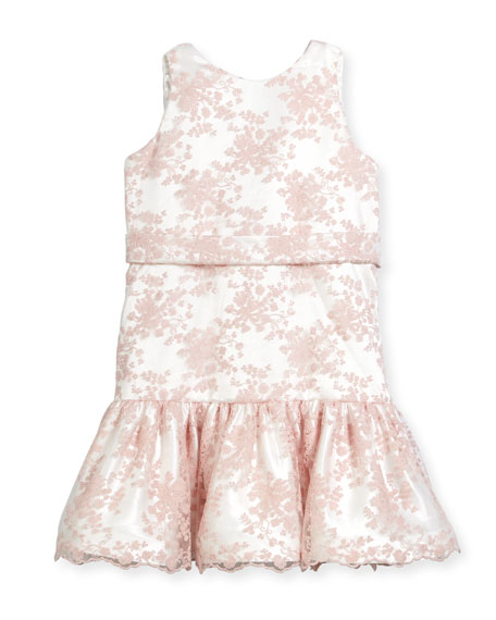 Drop-Waist Lace Dress, Size 12-18 Months