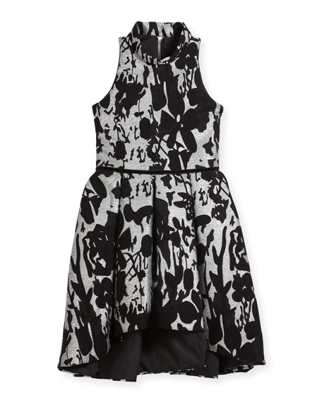 Zoe Evelyn Floral Halter Dress, Size 7-16