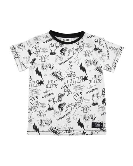 Ragnij Short-Sleeve Graphic T-Shirt, Size 4-12
