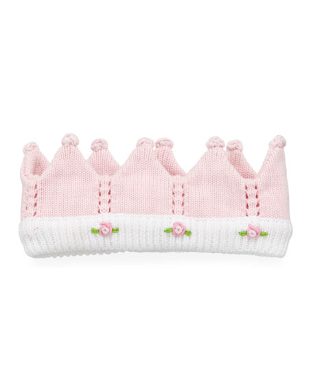 Knit Flower Crown, Infant