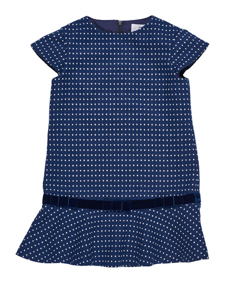 Jacquard Knit Sweater Dress, Size 2-6
