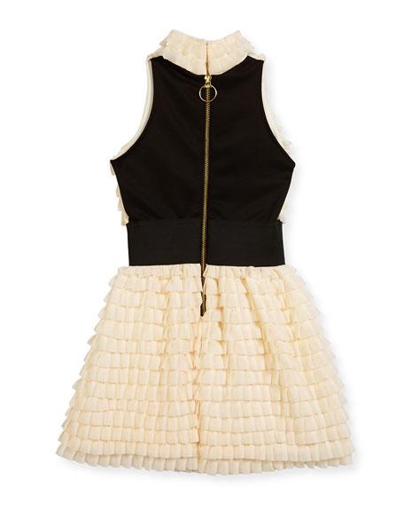 Gia Halter Ruffle Bubble Dress, Size 7-16