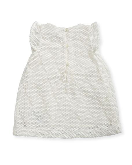 Sabby Diamond Knit Dress, Size 6-24 Months