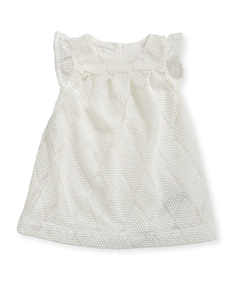 Burberry Sabby Diamond Knit Dress, Size 6-24 Months