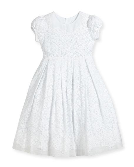 Isabel Garreton Gala Organdy Lace Dress, Size 4-6