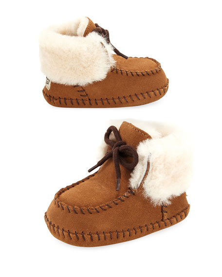 dac31810459 Sparrow Moccasin Bootie, Infant