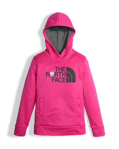 Surgent Logo Pullover Hoodie, Pink, Size XXS-XL