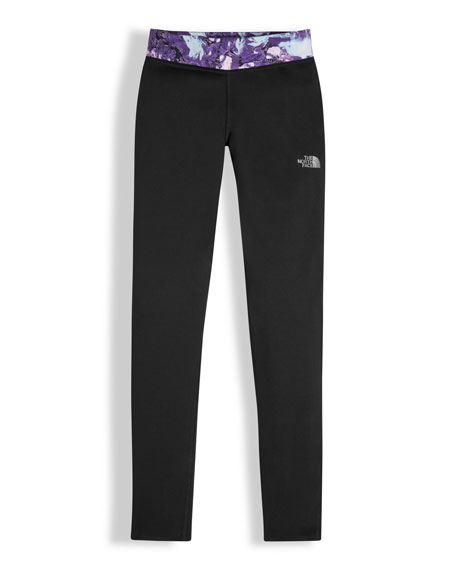 The North Face Pulse Stretch Leggings, Black, Size