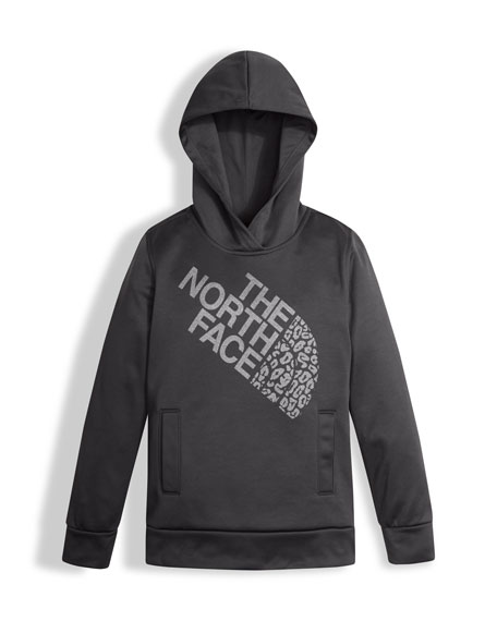 The North Face Surgent Pullover Hoodie, Gray, Size