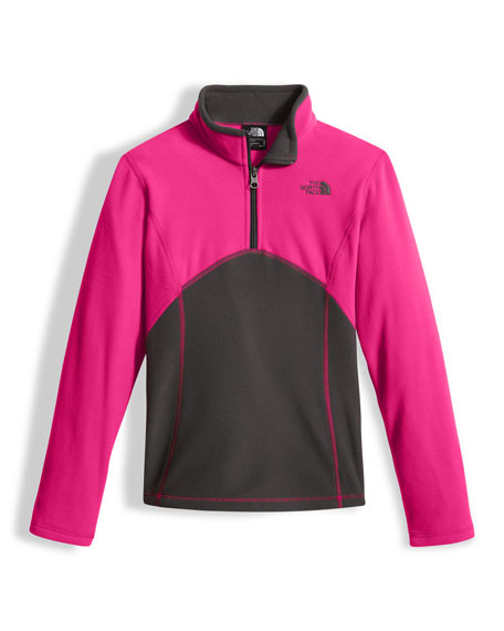 The North Face Glacier Two-Tone Fleece Half-Zip Pullover,