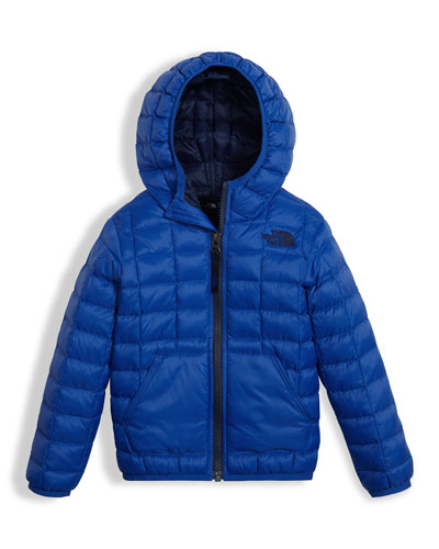 ThermoBall Hooded Jacket, Blue, Size 2-4T