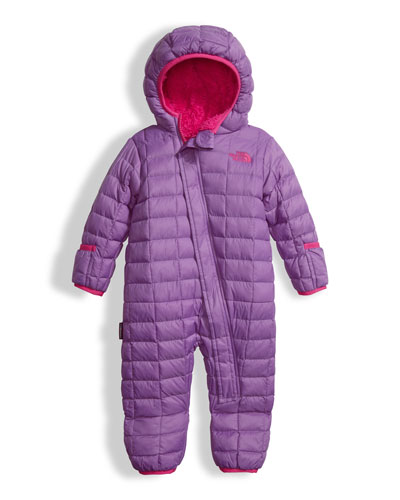 Quilted ThermoBall Bunting, Purple, Size 3-24 Months