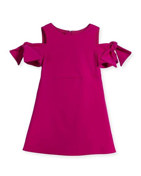 Milly Minis Berry Cady Mod Tie Mini Dress,