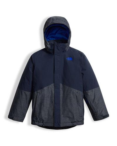Boys' Boundary Triclimate® Jacket, Blue, Size XXS-XL