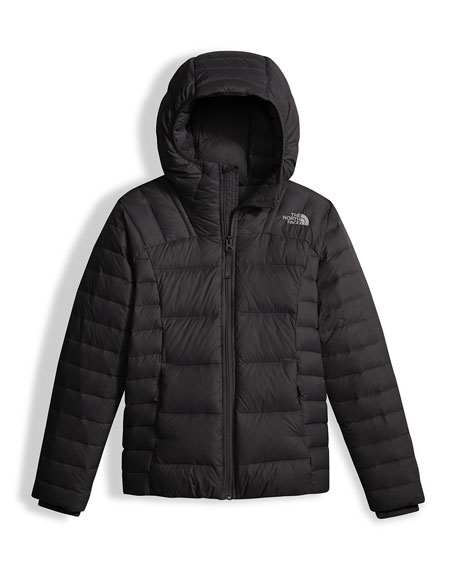 The North Face Girls' Double Down Zip-Up Hooded