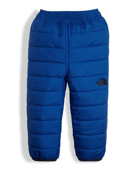 The North Face Reversible Perrito Quilted Pants, Blue,