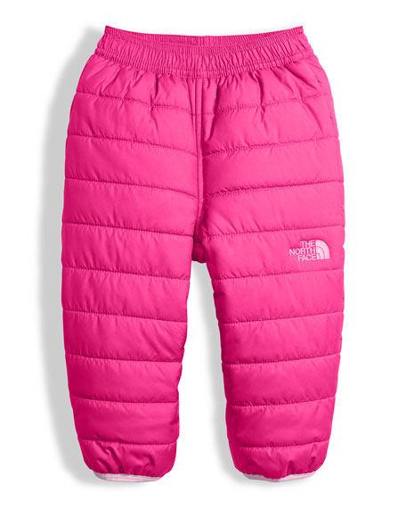 The North Face Reversible Perrito Quilted Pants, Pink,