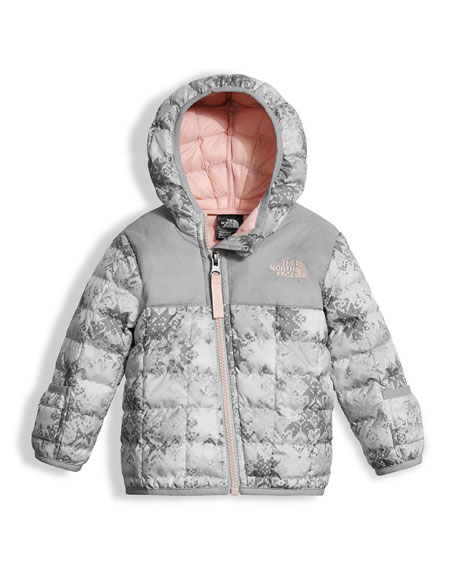 The North Face ThermoBall Hooded Jacket, White, Size