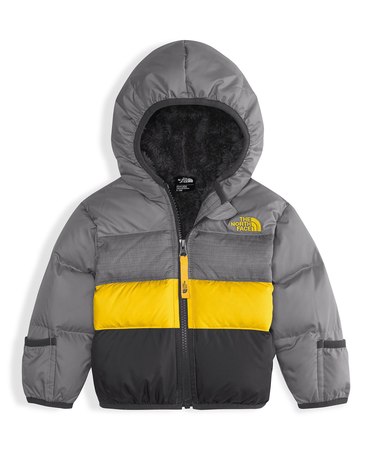 f9a411fbd The North Face Boys' Moondoggy 2.0 Down Quilted Jacket, Gray, Size 3 ...