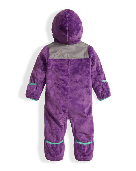 Oso Fleece Bunting, Purple, Size 3-24 Months