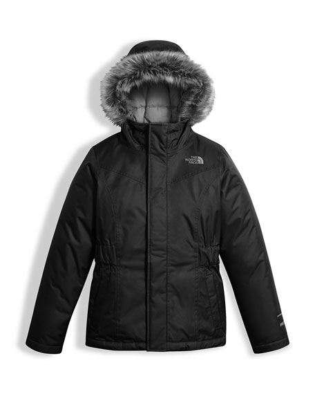 The North Face Greenland Down Parka w/ Faux-Fur