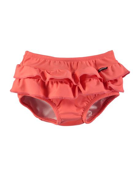 Neena Ruffle Swim Bikini Bottoms, Size 3-24 Months