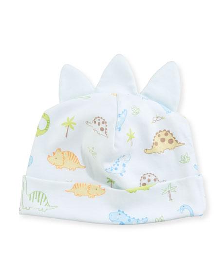 Kissy Kissy Dino Dudes Pima Baby Hat w/