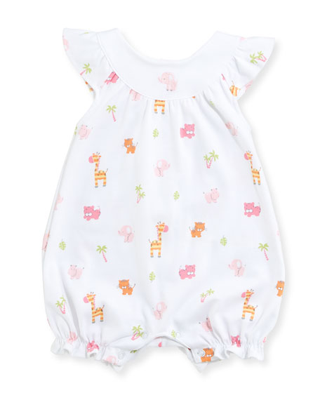 Kissy Kissy Safari Stroll Pima Playsuit, Size 0-9