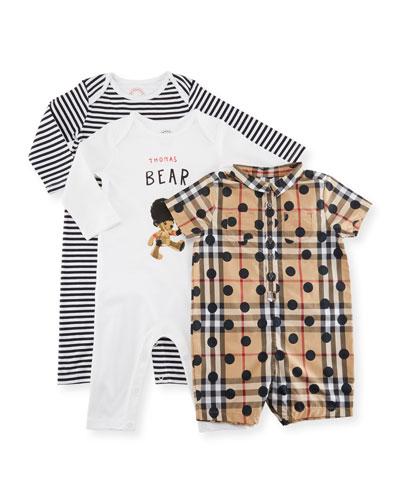 Boys' Thomas Bear Layette Set, Size 3-9 Months