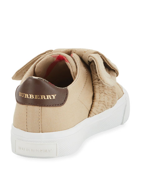 Westford Canvas Sneaker w/ Knot Detail, Toddler Sizes 7-10