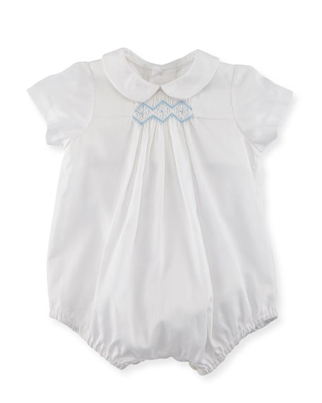 Luli & Me Bubble Playsuit w/ Embroidery, Size