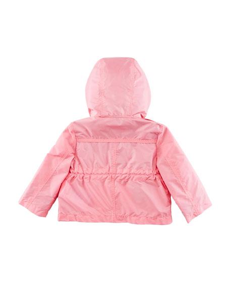 Halle Hooded Jacket, Peony, Size 6M-3