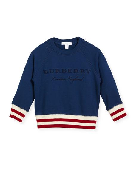 Stanley Logo Sweatshirt, Blue, Size 4-14
