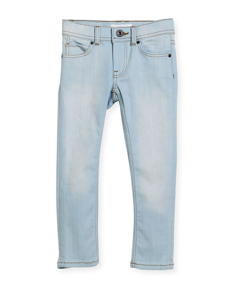 Burberry Faded Skinny Jeans, Size 4-14
