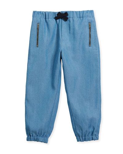 Phillie Track Pants, Blue, Size 4-14