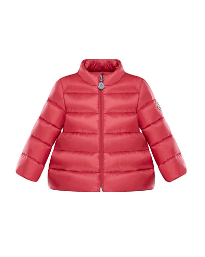 moncler junior black bernadette jacket
