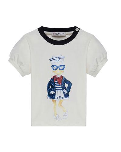 Maglia Short-Sleeve Sailor Duck T-Shirt, Size 12M-3Y