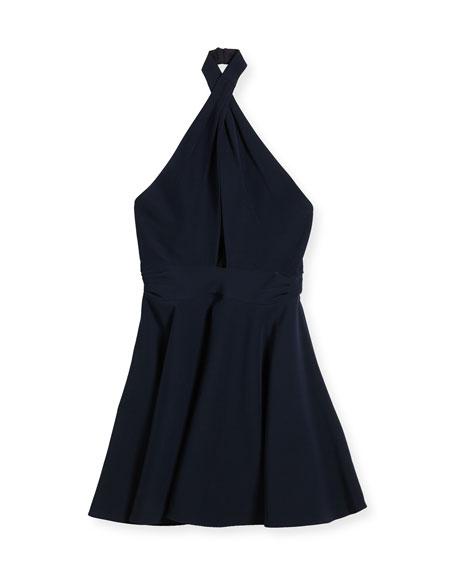 Milly Minis Sydney Cady Halter Dress, Size 8-16